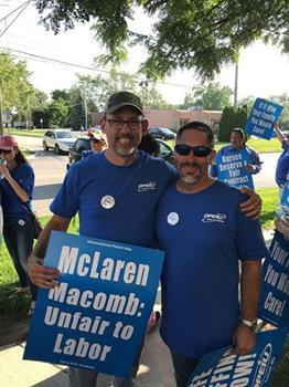 Click to view album: More than 350 OPEIU Local 40 Nurses Attend Informational Picket to Warn Public of Staffing Violations, Safety Concerns at McLaren Macomb